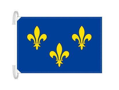 イル=ド=フランス地域圏 フランス地域圏の旗・州旗(50×75cm)