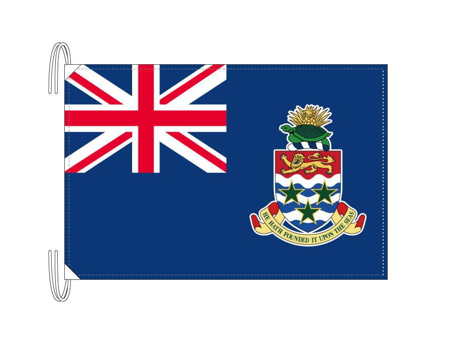 ケイマン諸島[50×75cm・高級テトロン製]日本製 IOC加盟地域