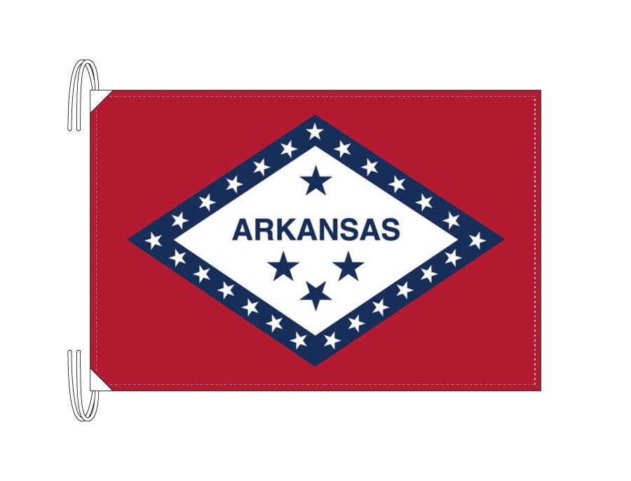 アーカンソー州旗[アメリカ合衆国の州旗・50×75cm・高級テトロン製]