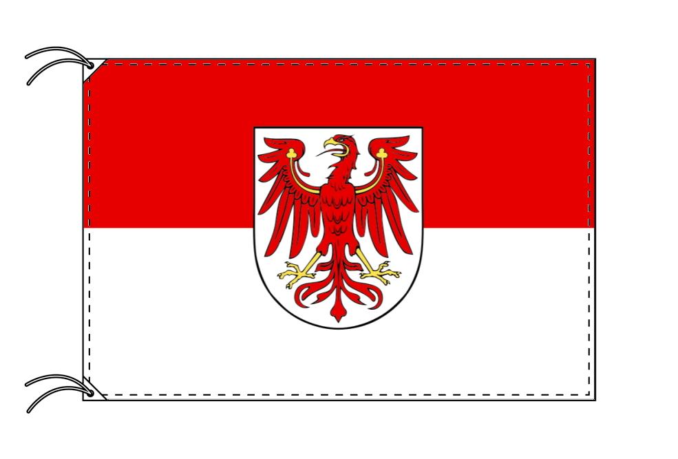 ドイツ・州旗 ブランデンブルク州(120×180cm・高級テトロン・日本製)