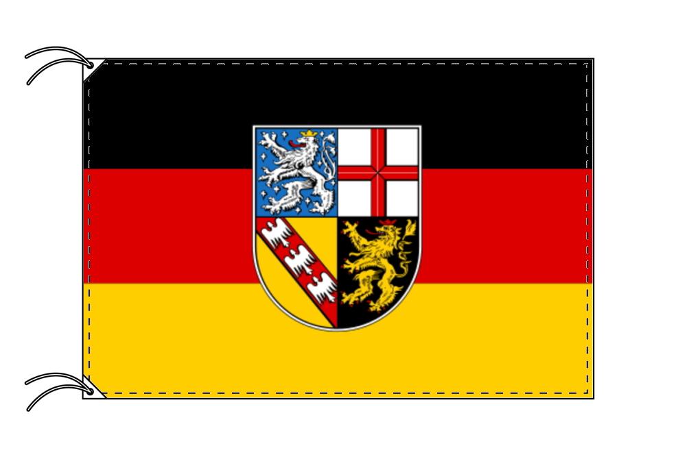 ドイツ・州旗 ザールラント州(120×180cm・高級テトロン・日本製)