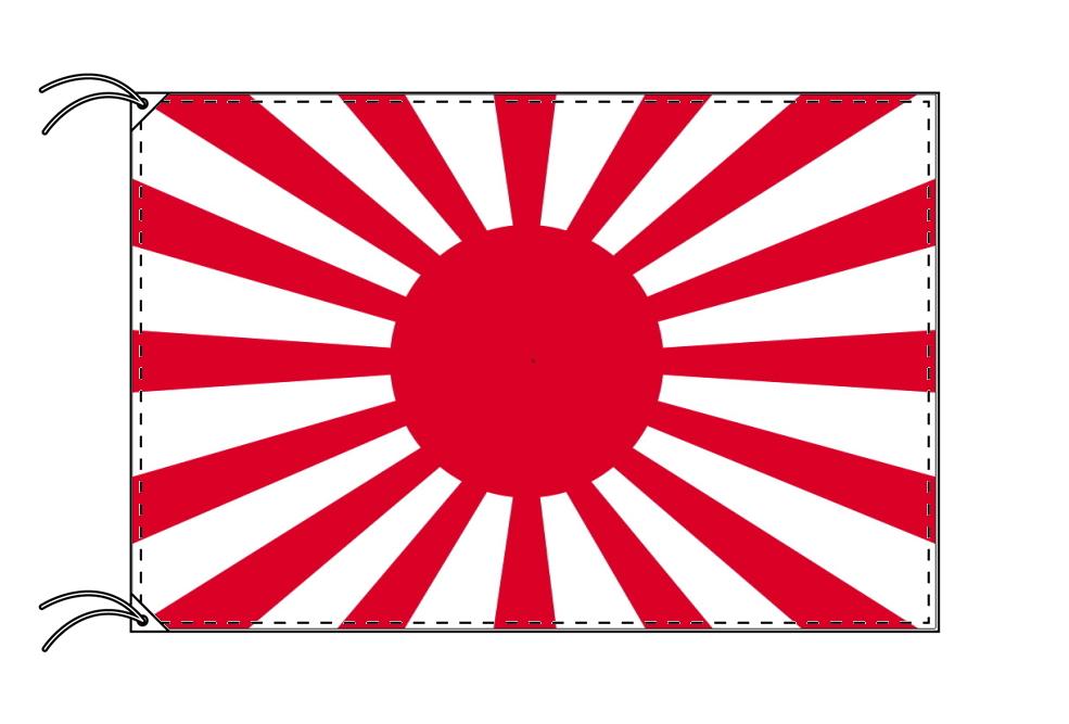 陸軍旗[旭日旗・大日本帝国陸軍旗・テトロン・100×150cm]安心の日本製