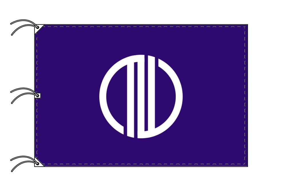 仙台市の市旗(宮城県・県庁所在地)(サイズ:140×210cm)テトロン製・日本製