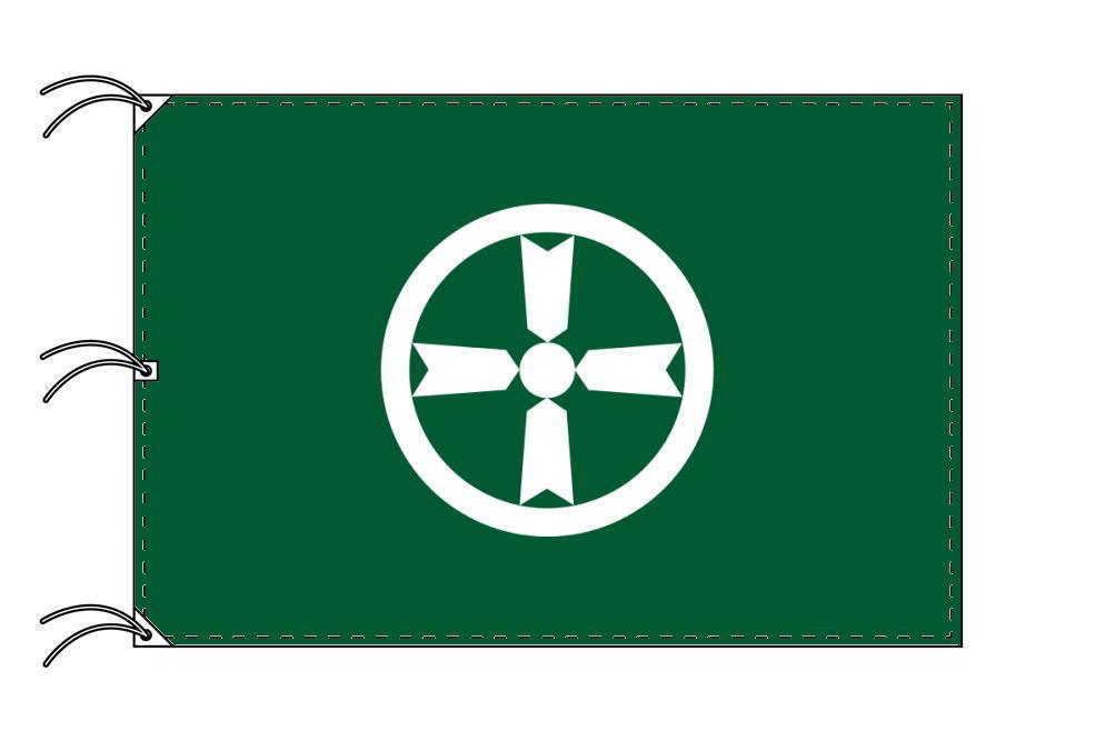 秋田市の市旗(秋田県・県庁所在地)(サイズ:140×210cm)テトロン製・日本製