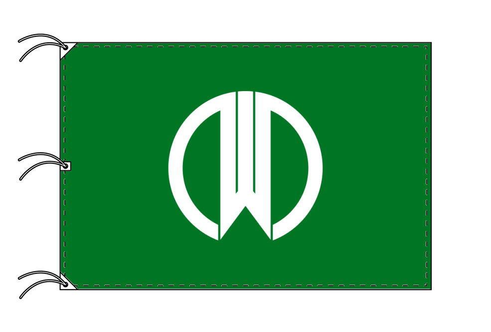 山形市の市旗(山形県・県庁所在地)(サイズ:140×210cm)テトロン製・日本製