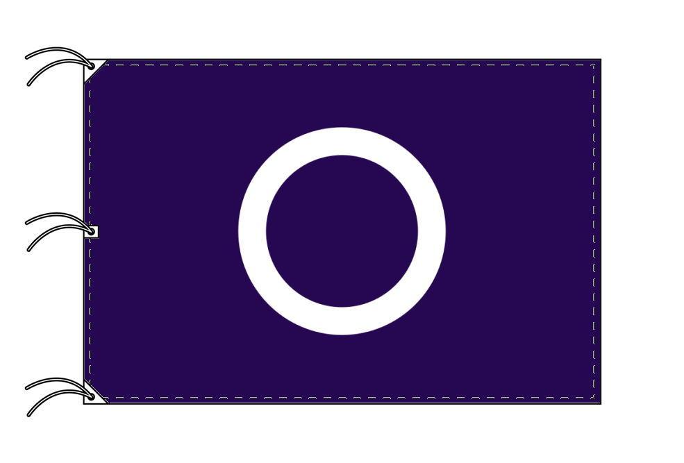 前橋市の市旗(群馬県・県庁所在地)(サイズ:140×210cm)テトロン製・日本製