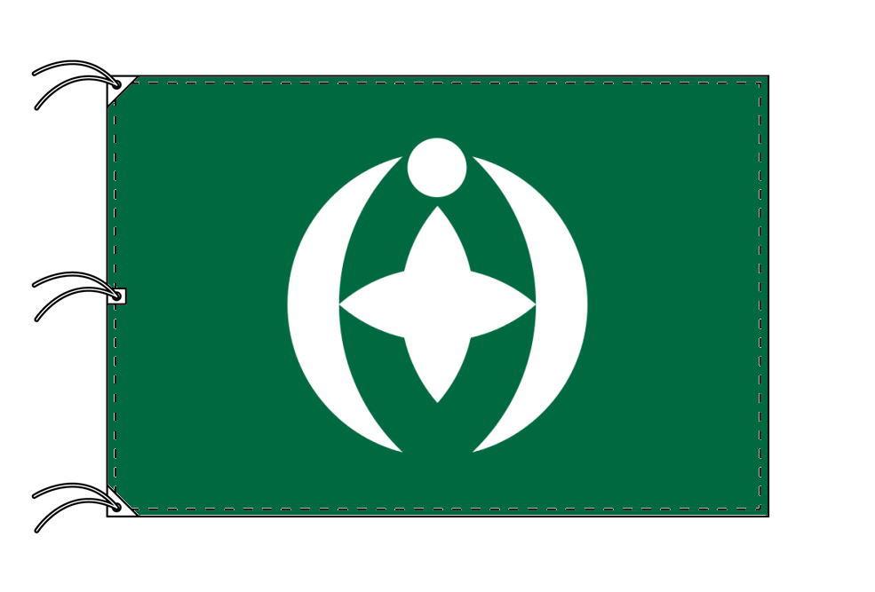 千葉市の市旗(千葉県・県庁所在地)(サイズ:140×210cm)テトロン製・日本製