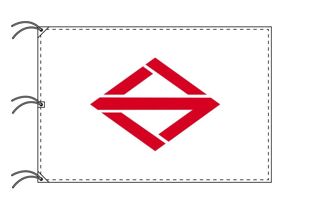 横浜市の市旗(神奈川県・県庁所在地)(サイズ:140×210cm)テトロン製・日本製