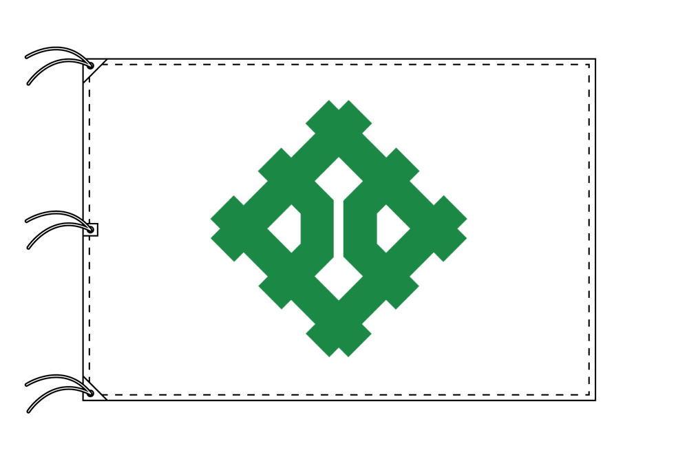 福井市の市旗(福井県・県庁所在地)(サイズ:140×210cm)テトロン製・日本製