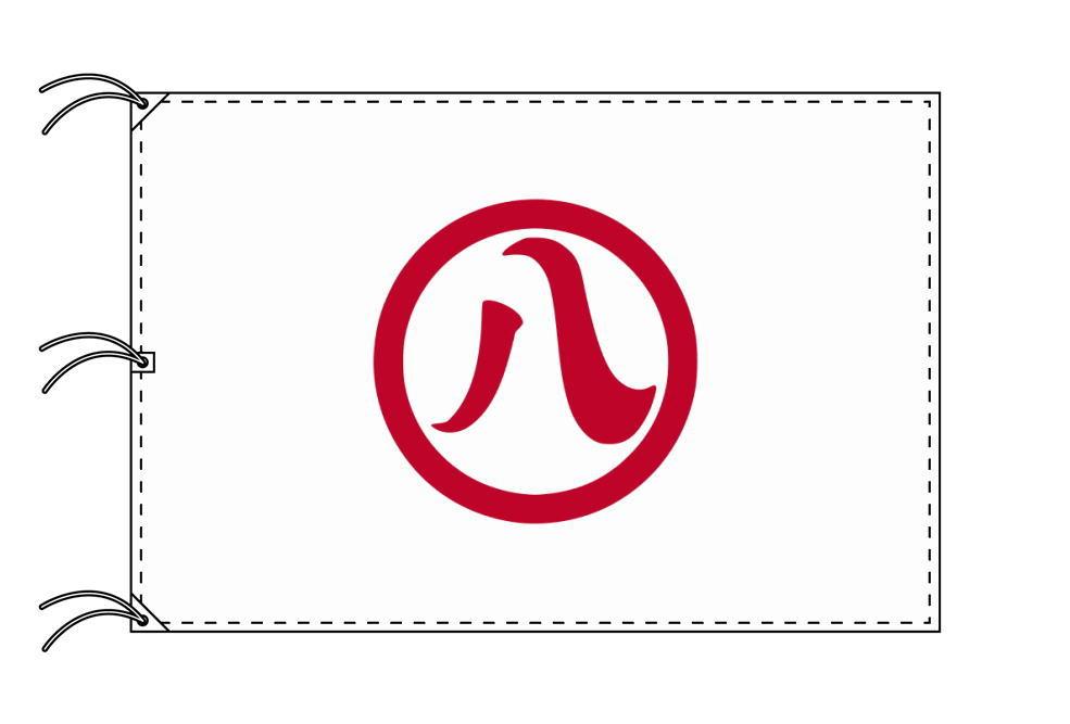 名古屋市の市旗(愛知県・県庁所在地)(サイズ:140×210cm)テトロン製・日本製