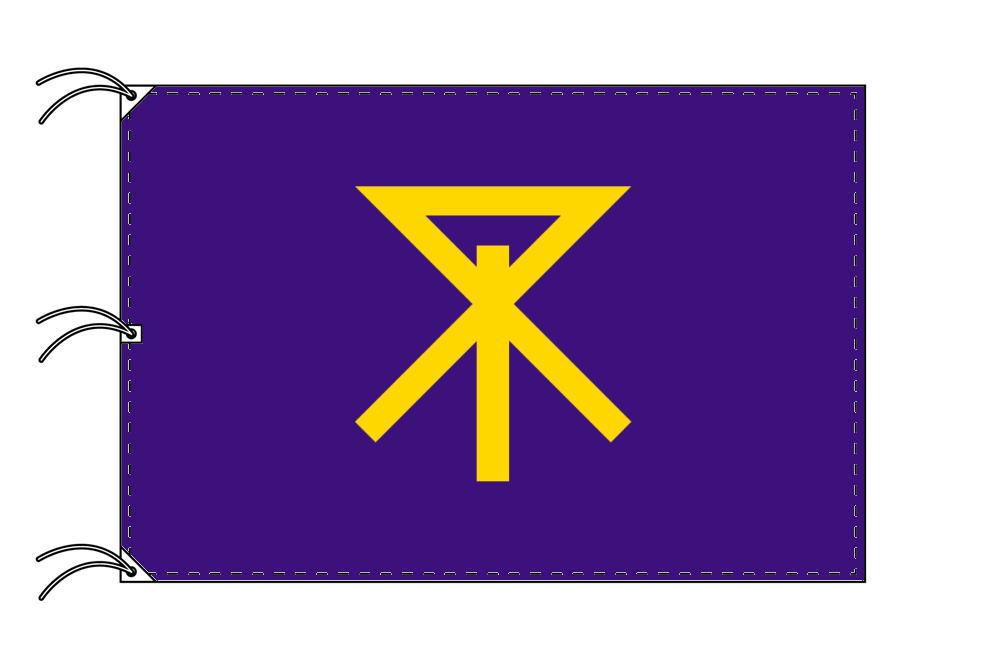 大阪市の市旗(大阪府・府庁所在地)(サイズ:140×210cm)テトロン製・日本製