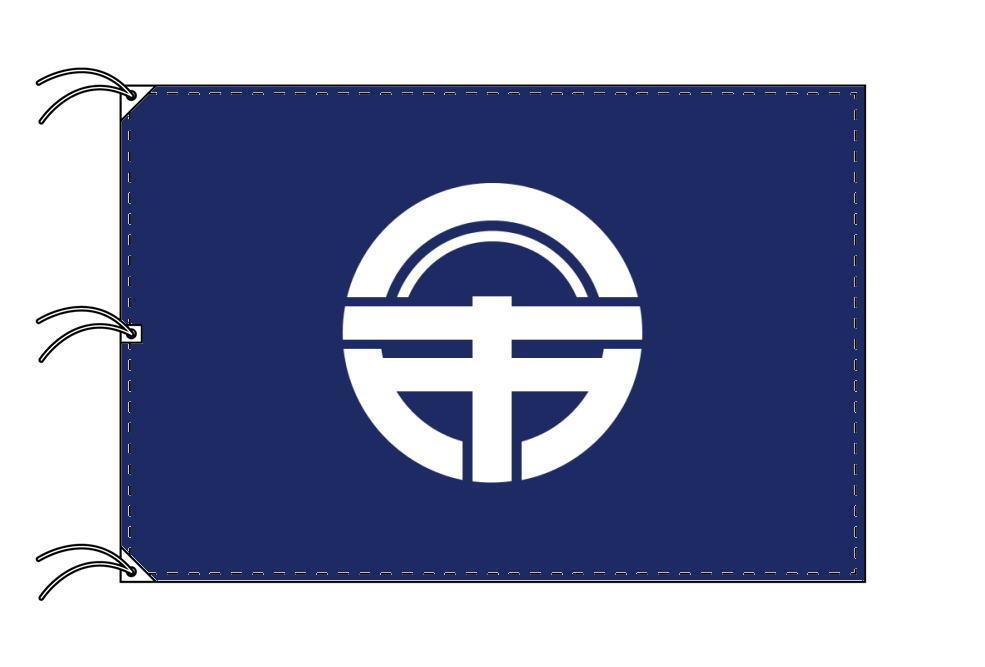 徳島市の市旗(徳島県・県庁所在地)(サイズ:140×210cm)テトロン製・日本製