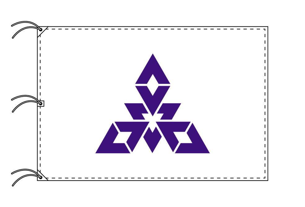 福岡市の市旗(福岡県・県庁所在地)(サイズ:140×210cm)テトロン製・日本製