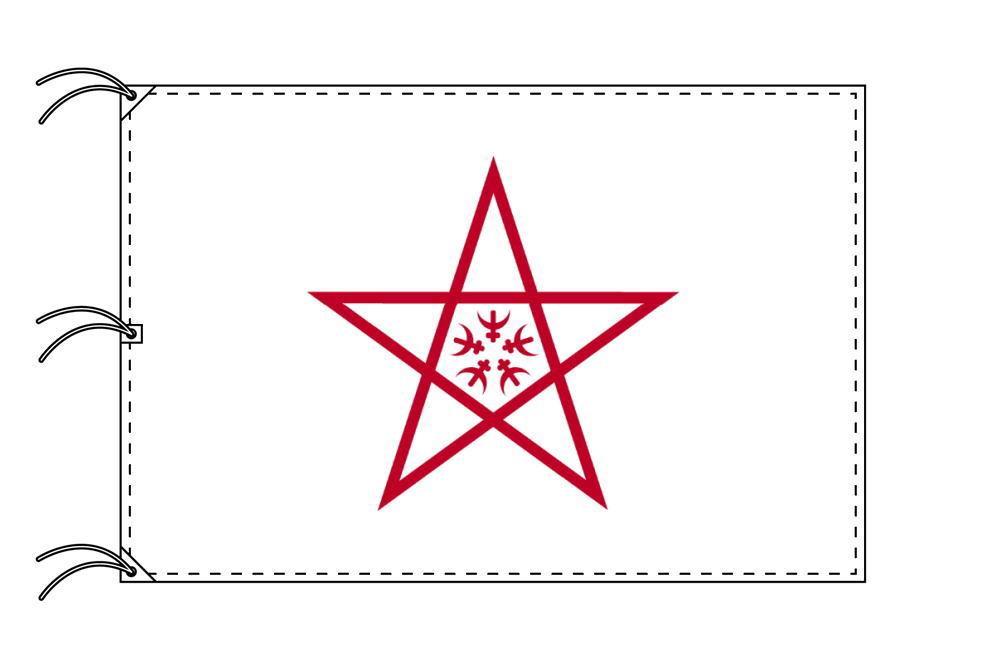 長崎市の市旗(長崎県・県庁所在地)(サイズ:140×210cm)テトロン製・日本製