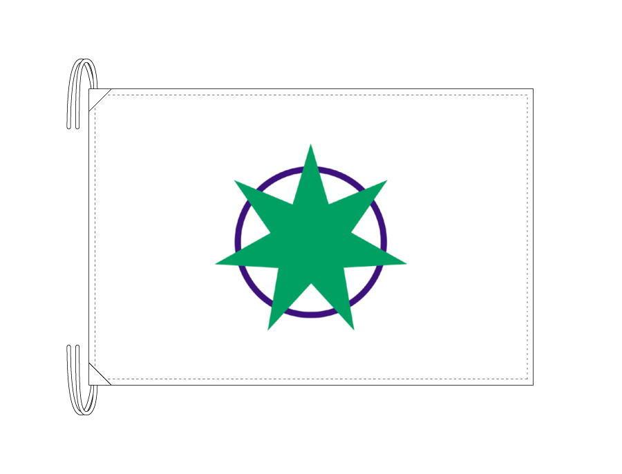青森市の市旗(青森県・県庁所在地)(50×75cm)テトロン製・日本製