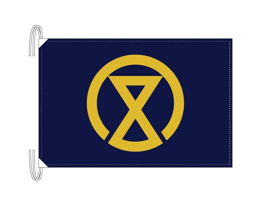 宮崎市の市旗(宮崎県・県庁所在地)(50×75cm)テトロン製・日本製