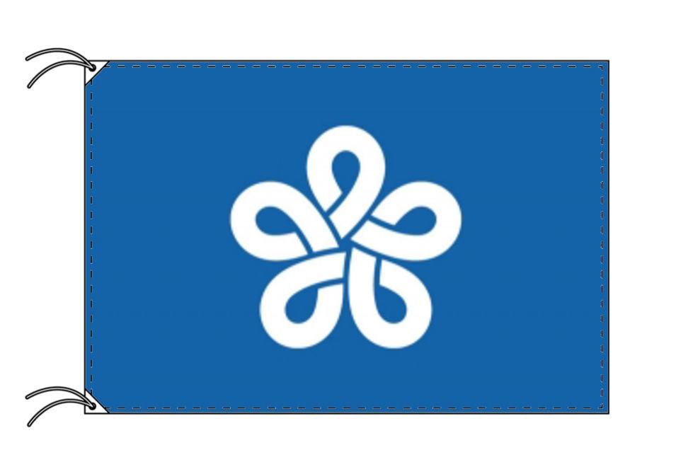福岡県旗(90×135cm・全国47都道府県旗・テトロン製・日本製)