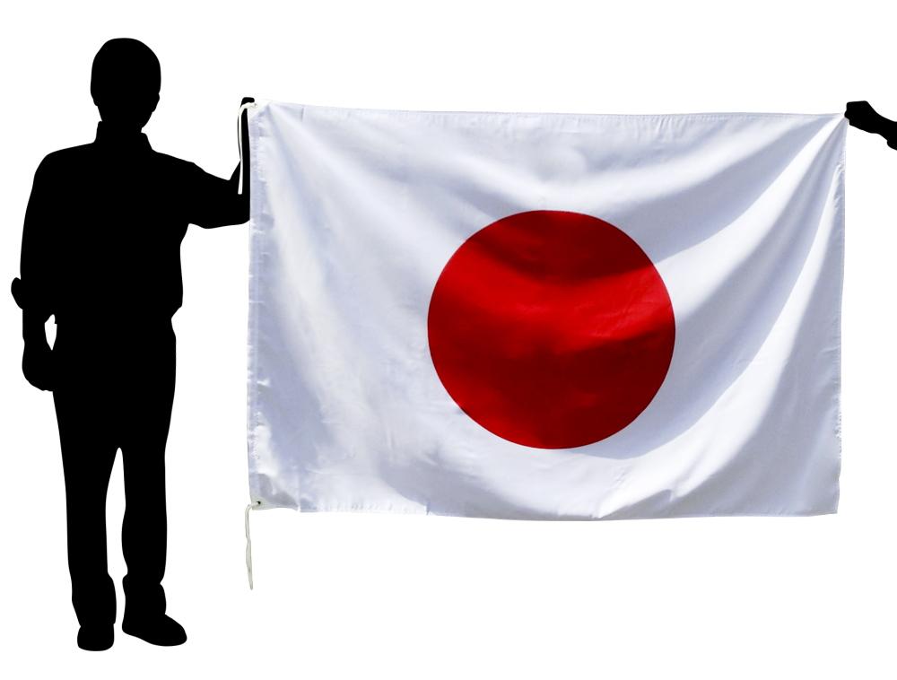 日本国旗 日の丸[アクリル・120×180cm]日本製 新元号「令和」奉祝