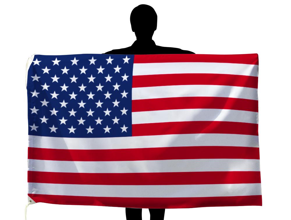 アメリカ USA 国旗 100×150cm テトロン製 日本製 世界の国旗シリーズ
