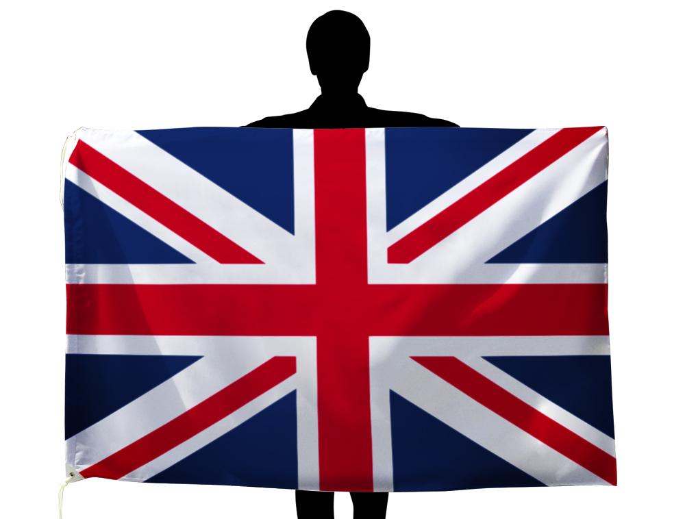 世界の国旗 イギリス国旗・英国旗ユニオンジャック[100×150cm・高級テトロン製]