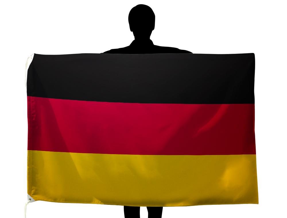 ドイツ 国旗 100×150cm テトロン製 日本製 世界の国旗シリーズ