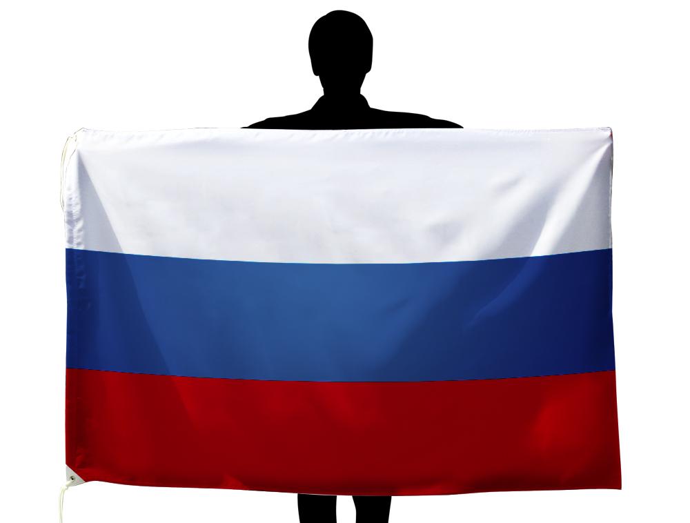 ロシア 国旗 100×150cm テトロン製 日本製 世界の国旗シリーズ