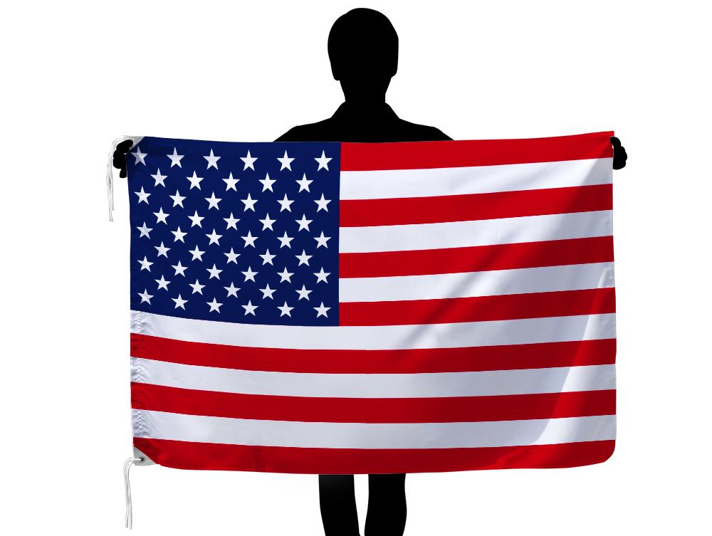 世界の国旗 アメリカ国旗・USA・星条旗[90×135cm・高級テトロン製]安心の日本製