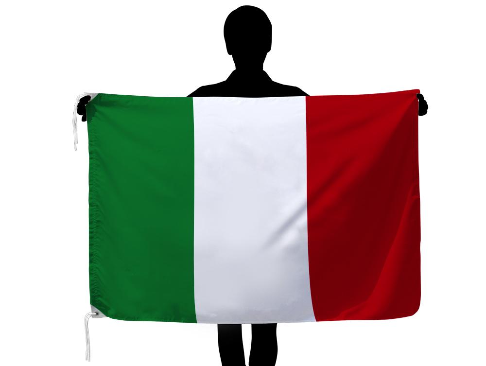 世界の国旗 イタリア国旗・トリコローレ[90×135cm・高級テトロン製]安心の日本製