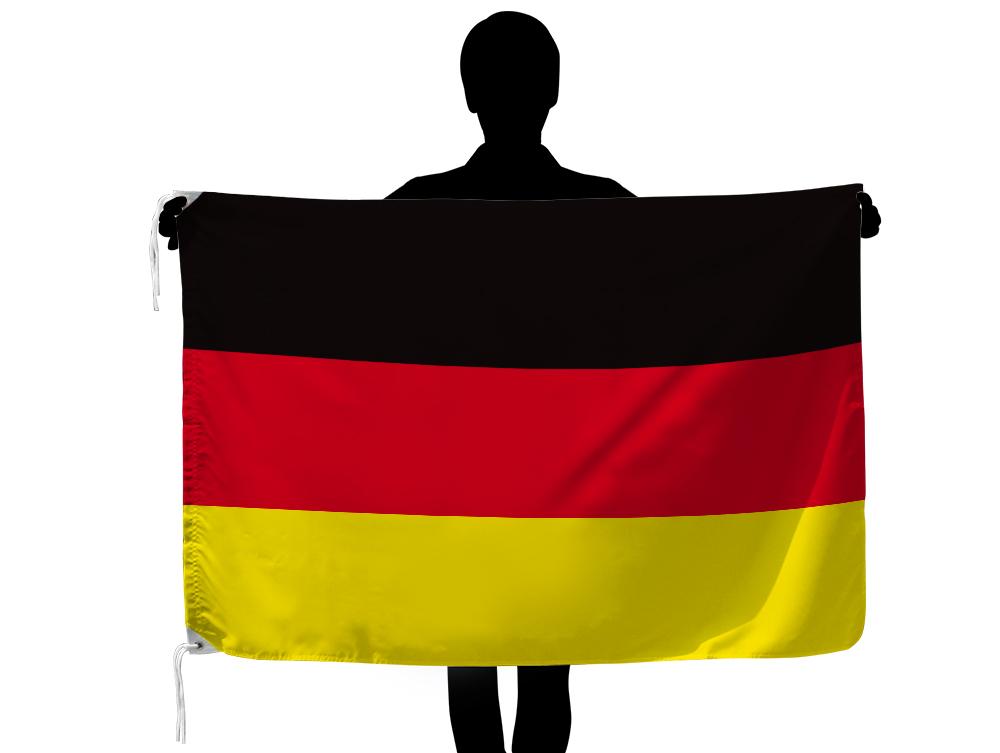 屋内 屋外の各種イベントに最適 定番サイズの世界の外国旗です ドイツ お歳暮 国旗 テトロン製 世界の国旗シリーズ スーパーセール 90×135cm 日本製