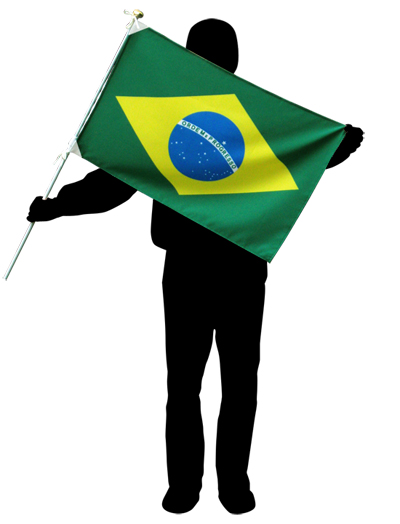 Soccer World Cup played country flag semaphore flag size [50 x 75 cm and high grade polyester made by] compatible