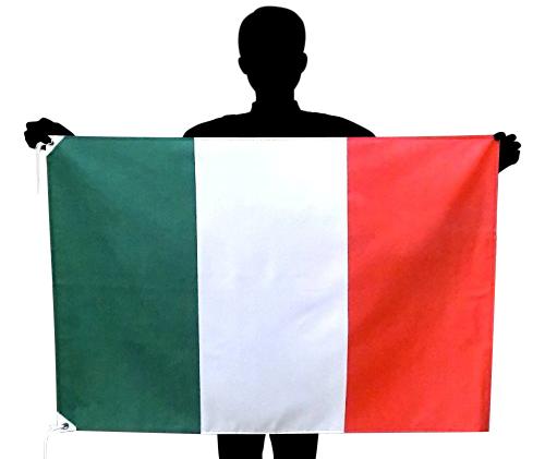 出荷 特価 世界の国旗 人気商品 ポリエステル100% を在庫限定販売 イタリア国旗 70×105cm ポリエステル100% トリコローレ