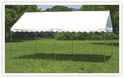 屋型テント GK3号型 天幕白 2×4間(3580×7130mm)