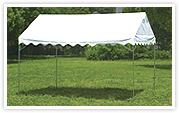 屋型テント GK1号型 天幕白 1.5×2間(2690×3580mm)