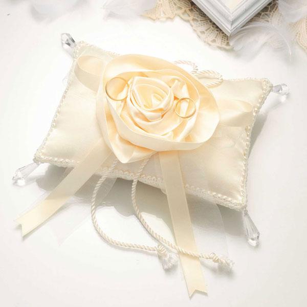 バラのスウィートリングピロー(rp20)(手作りキット)手芸キット Panami(パナミ)花 薔薇 ばら ローズ リボン パールビーズ