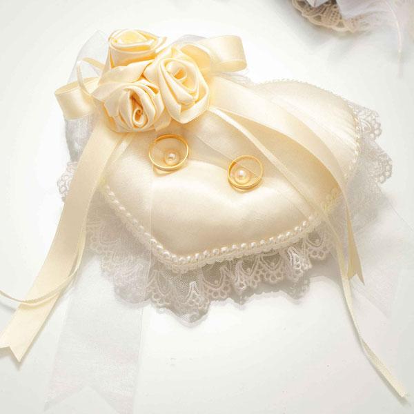 バラのスウィートリングピロー(rp21)(手作りキット)手芸キット Panami(パナミ)花 薔薇 ばら ローズ リボン パールビーズ