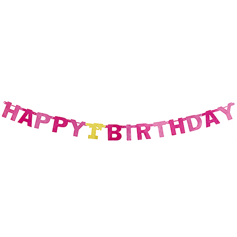Child of the large letter banner 1st birthday girl 1 year old birthday baby  direction item decoration celebration woman