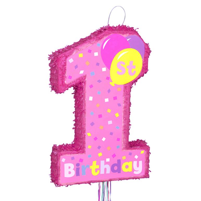 Fan Mary: Child Happy Birthday Of The Pinata 1st Birthday