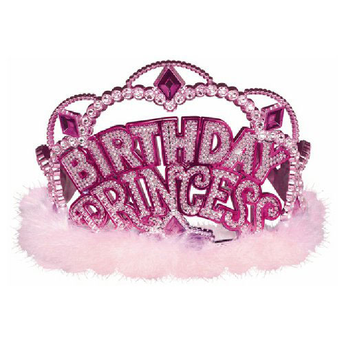 Fan Mary Tiara Princess Tiara Party BIRTHDAY PRINCESS Pink Princess