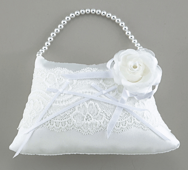 エンジェル クッションバッグタイプリングピロー(手作りキット) 手芸 結婚式 挙式 教会式 人前式 指輪 プレゼント