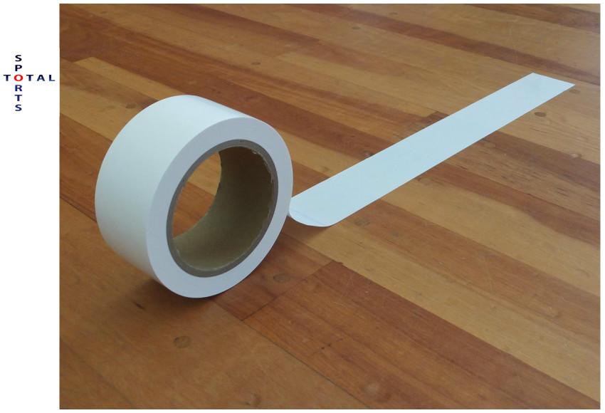 ADACHO アダチョー ラインテープ ADR3-40(6巻入) 伸縮性無し 体育館用ラインテープ バドミントンラインテープ バトミントンラインテープ 体育用品 体育館 運動会