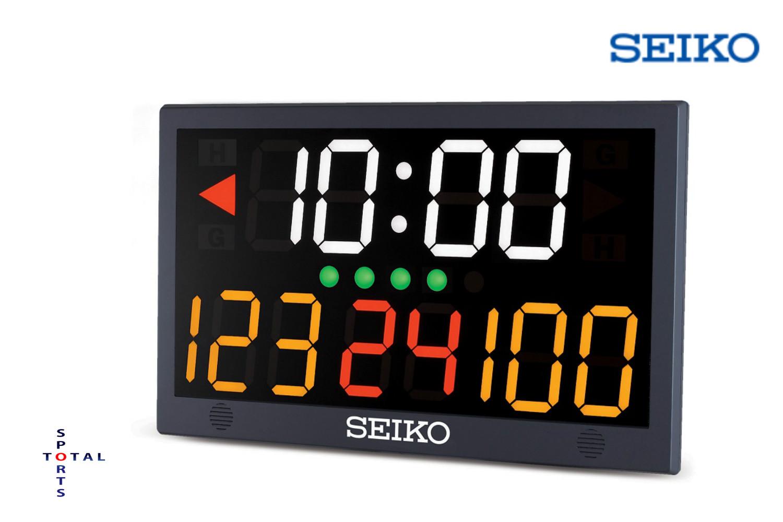 ●●メーカー直送商品の為、代金引換・他メーカー商品同梱不可●● セイコー SEIKO KT-601 スポーツカウンター タイマー バスケットボール フットサル バレーボール ボクシング 時計