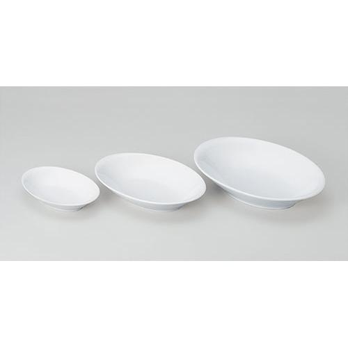 シンプルで使いやすい陶磁器です 期間限定今なら送料無料 サイズは7インチ~11インチまで だ円ボール 9インチ 610-11041-02 Z603-113 お皿 食器 白い食器 業務用食器 白 ホワイト おしゃれ シンプル 白いお皿 業務用 白い皿 定価