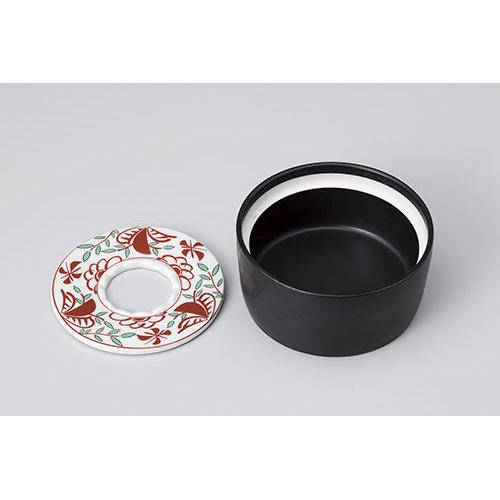 陶磁器 万歴切立灰皿 610-33001 Z622-235 新入荷 流行 灰皿 和柄 卓上小物 ハイクオリティ たばこ タバコ 業務用