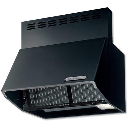 富士工業 ブラック レンジフード 換気扇 キッチン w750 75cm幅 BDR-3HL-751BK 75cm 送料無料 深型 レンジフードファン 開店祝い
