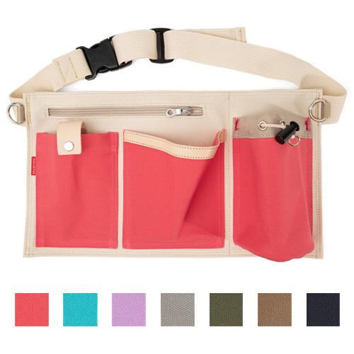 機能的でかっこいい 国産 数量限定アウトレット最安価格 日本製散歩バッグ お散歩エプロン 7カラー おすすめ