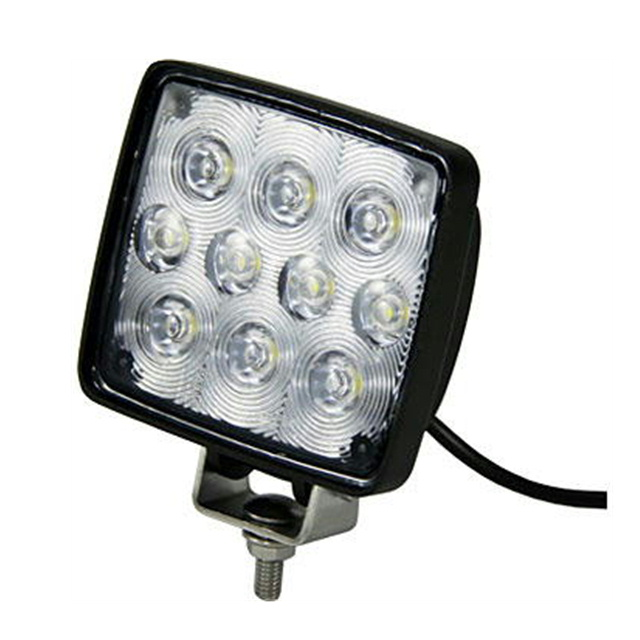 LED10ハイパワーワークランプ 角型 15W12/24V共用