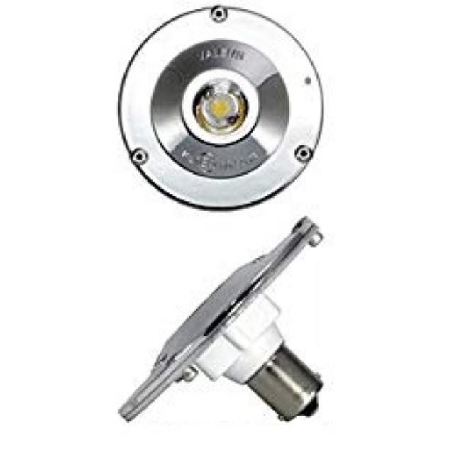 工夫次第 誕生日/お祝い 丸型路肩灯 電球式ワークランプ交換用LEDバルブ 期間限定で特別価格 ホワイト 6000K