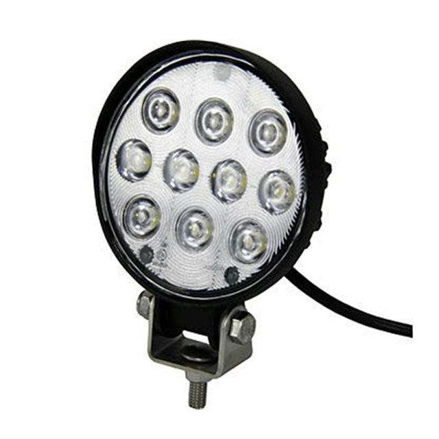 LED10ハイパワーワークランプ 丸型 15W 12/24V共用