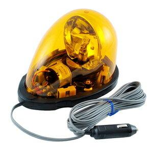 流線型回転灯フェライトマグネット仕様 12V用イエロー
