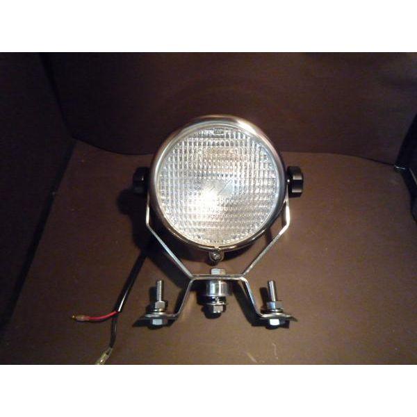 【お取り寄せ】【送料無料】【5'1/2ステンレス製ハロゲン作業灯】拡散レンズタイプ 12V用
